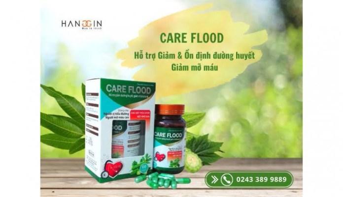 Care flood hỗ trợ chữa tiểu đường