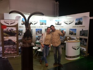 Beni-Ibex team at Jagd&Hund 2016