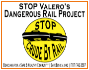 Stop Crude By Rail yardsign