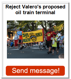 STOP Crude By Rail in Benicia California!