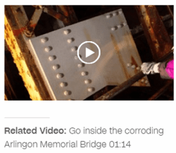 CNN video: Go inside corroding AM bridge