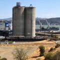 Valero's petcoke storage silos (mjb july 19 2021)