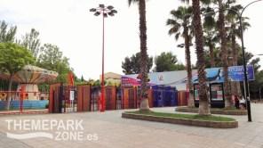 Entrada al parque