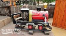 Antiguo vagón de atracción