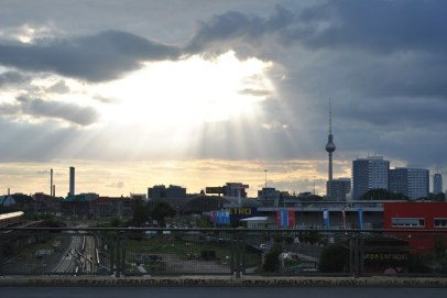 The view over East Berlin