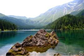 Lake Obernberg reflections