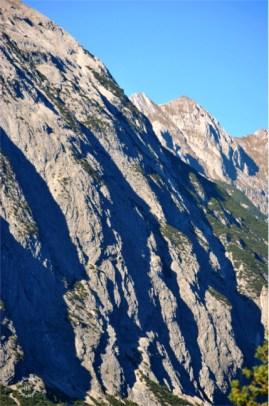 The rockies of Scharnitz