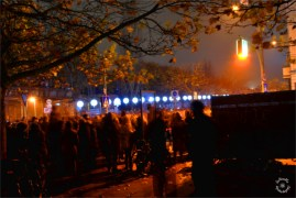Waiting for the celebration at Mauerpark