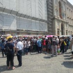 Reggia Caserta: assemblea sindacale, caos per i turisti