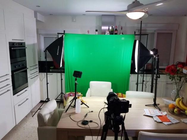 Green screen Benidorm Blog, update technologie