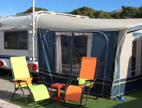 Caravans For Sale On Camping Raco In Benidorm