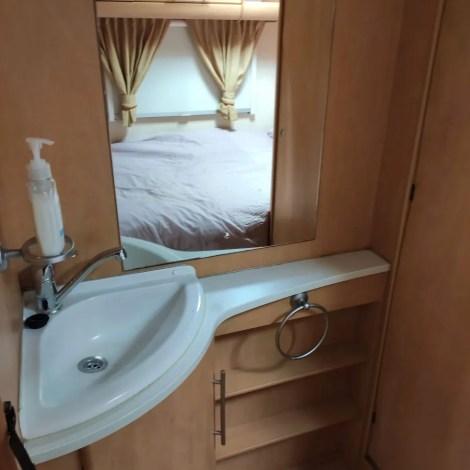 Static touring caravan for sale in Benidorm