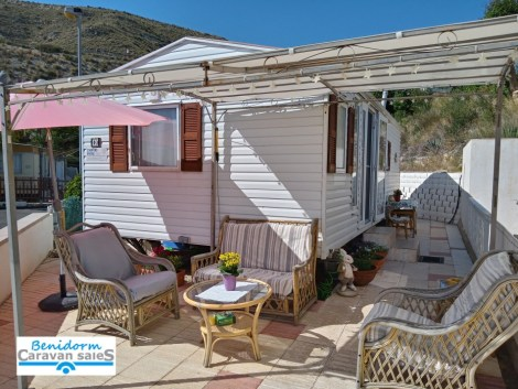 Used mobile home for sale on Camping Colmar campsite in El Campello