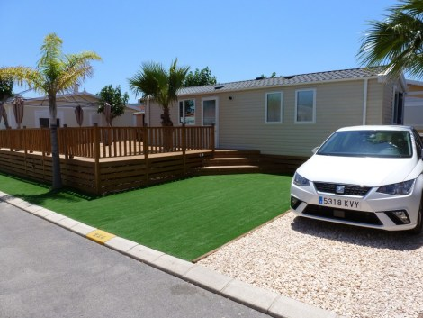 Swift Atlantique mobile home for sale on Camping almafra Campsite in Benidorm
