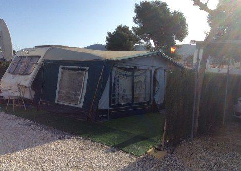 Caravan for sale on Camping Benidorm campsite in Benidorm