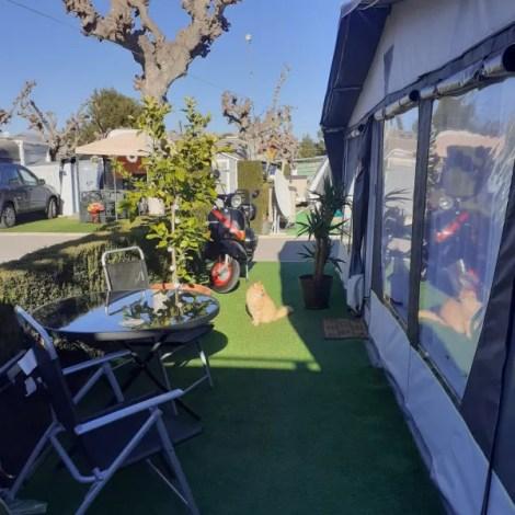 Resale touring caravan for sale in Benidorm