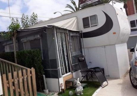 Caravan for sale on Camping La Torreta Campsite in Benidorm