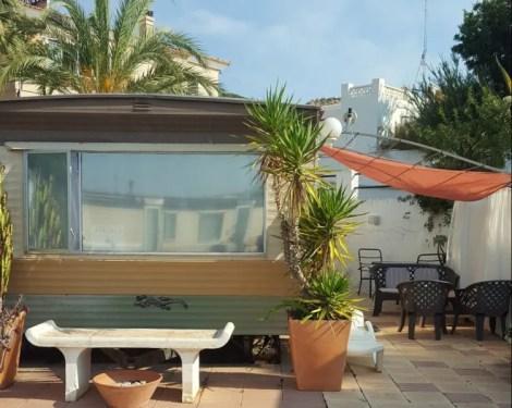 A caravan for sale in Spain