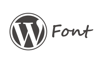 Wordpress Font - Benign Blog