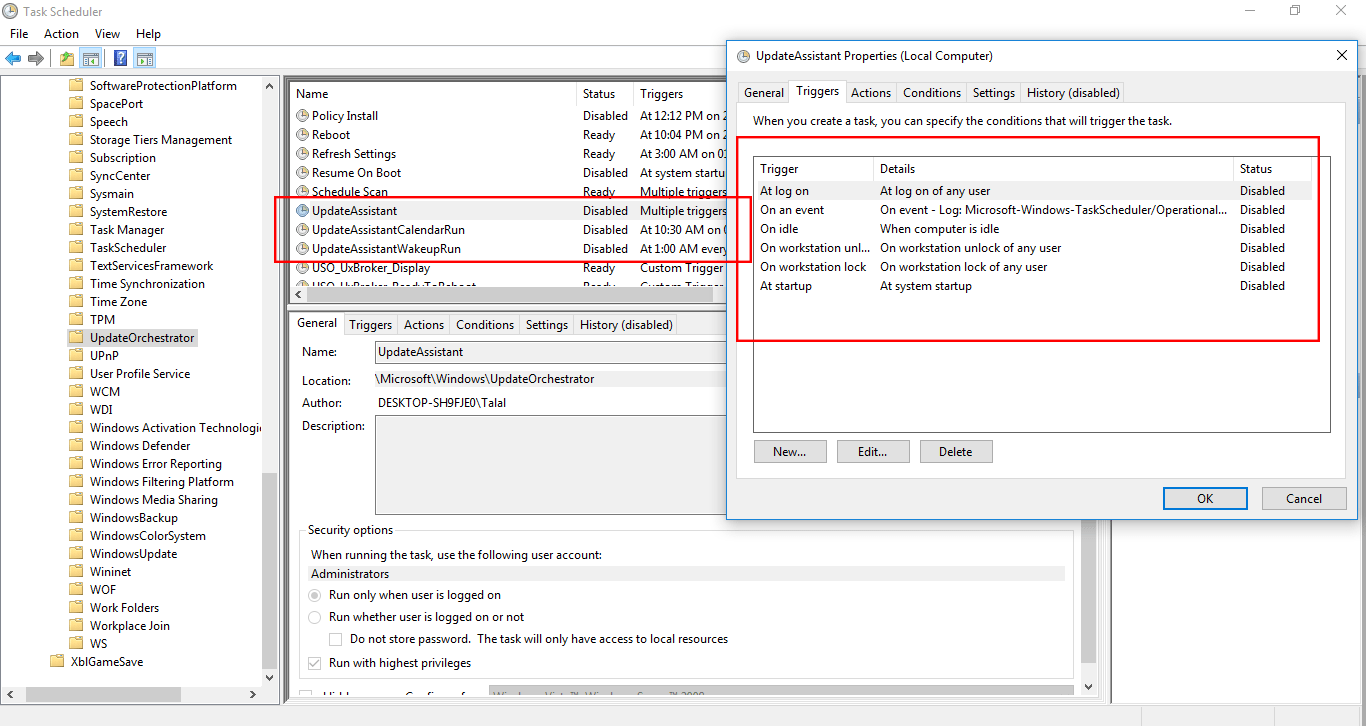 How do I disable Windows Update
