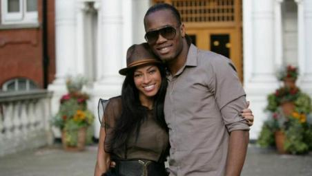 DROGBA et Julia CHANNEL