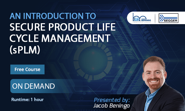 Webinar – An Introduction to Secure Product Lifecycle Management (sPLM)