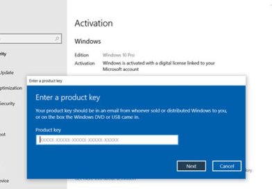 Software Licensing Service reported that product key is not available
