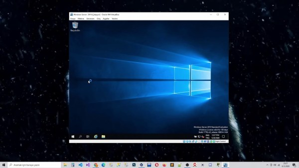 Windows Server 2019 Kurulumu | Oracle VM VirtualBox ile ...