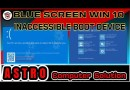 CARA_ATASI BLUE_SCREEN_INACCESSIBLE_WINDOWS 7,8,10 – INACCESSIBLE BOOT DEVICE