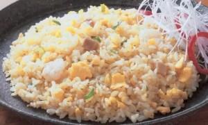 炒め卵炒飯(海老入り)