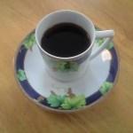 新しいコーヒーカップ