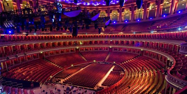 Benjamin Beck performing at the Royal Albert Hall in London