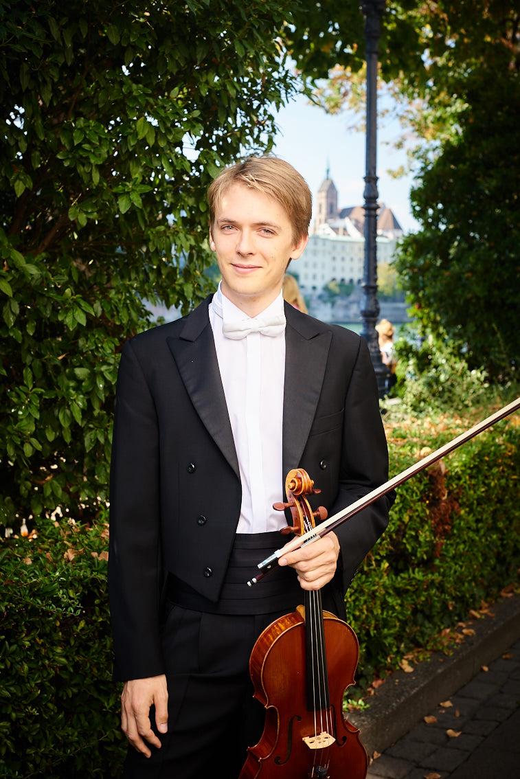 Benjamin Beck viola alto bratsche soloist 提琴