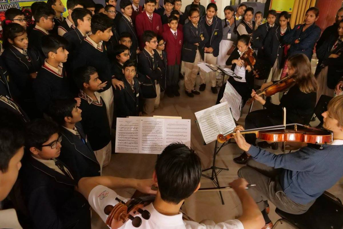 Benjamin Beck viola alto bratsche soloist 提琴 Midori Goto violin ICEP Music Sharing
