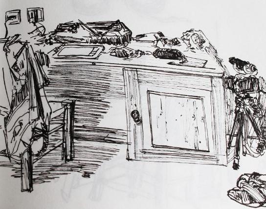 exemple d'observation en dessin