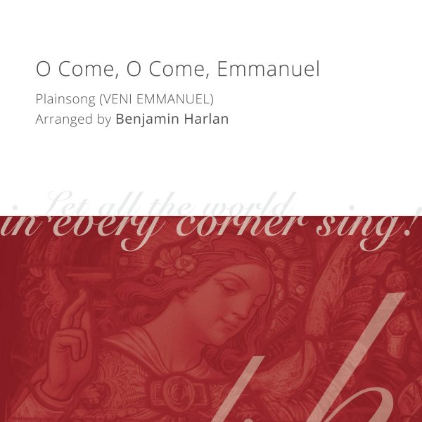 Harlan Arrangement Cover (O Come O Come Emmanuel)