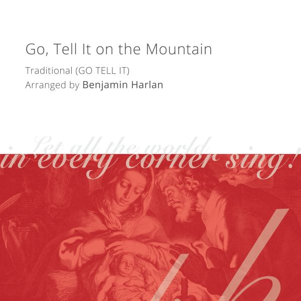 Harlan Arrangement Cover (Go, Tell It on the Mountain)