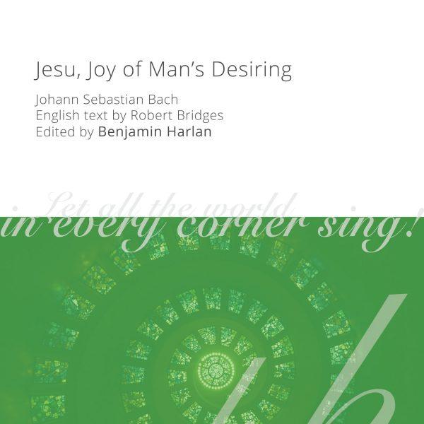 Harlan Arrangement Cover (Jesu Joy of Man's Desiring)