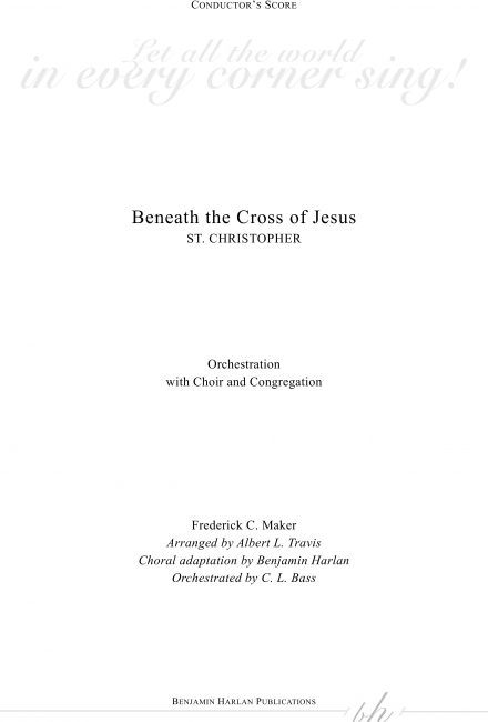 Beneath the Cross of Jesus ORCH