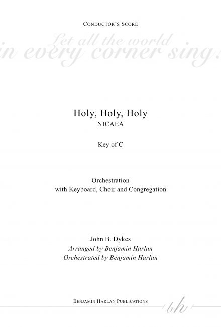Holy, Holy, Holy ORCH