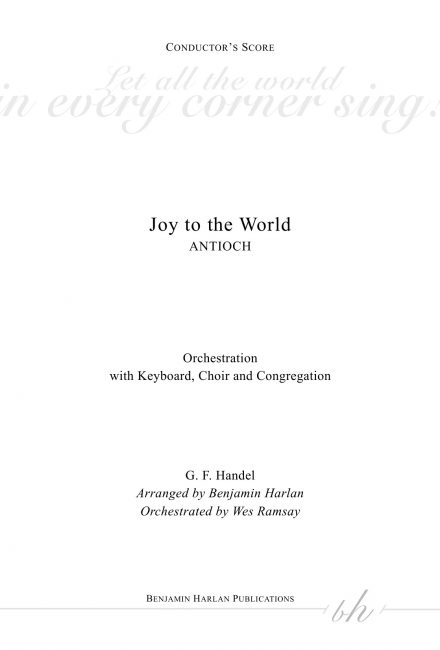 Joy to the World ORCH