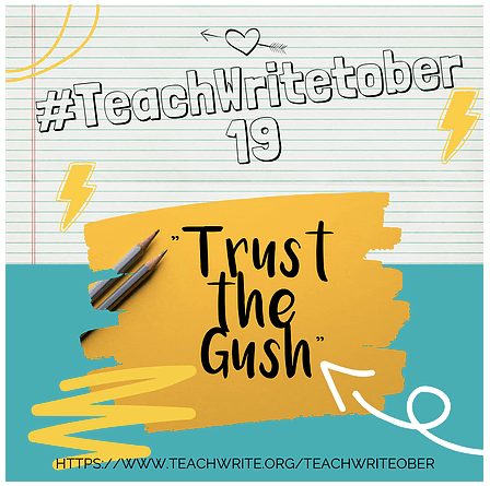 #TeachWritetober 2019 Goals
