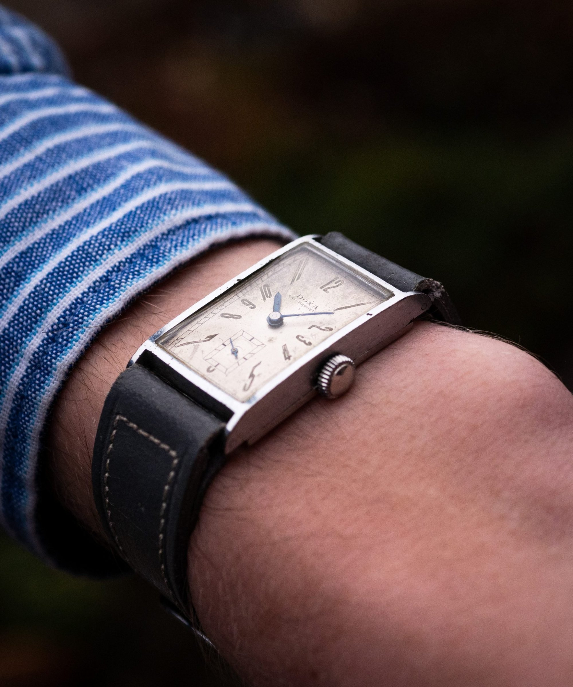 Vintage Doxa tank watch radium antimagnetique vintage watch