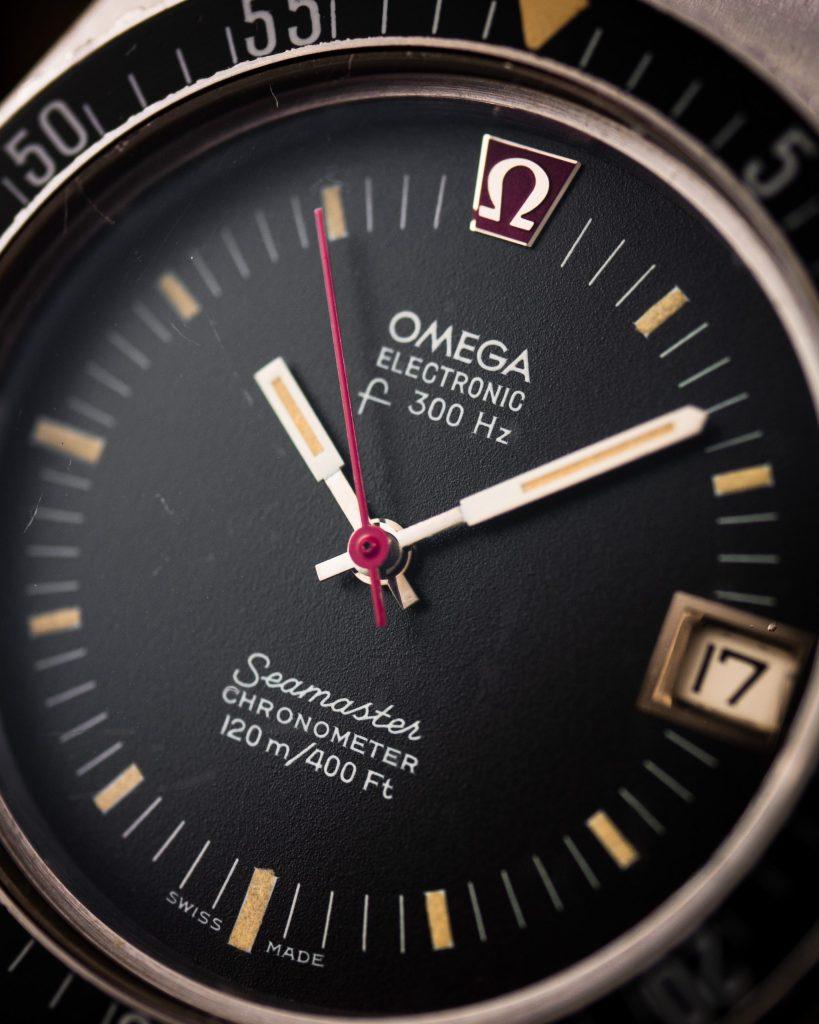 vintage Omega Seamaster F300 Electronic 198.0005