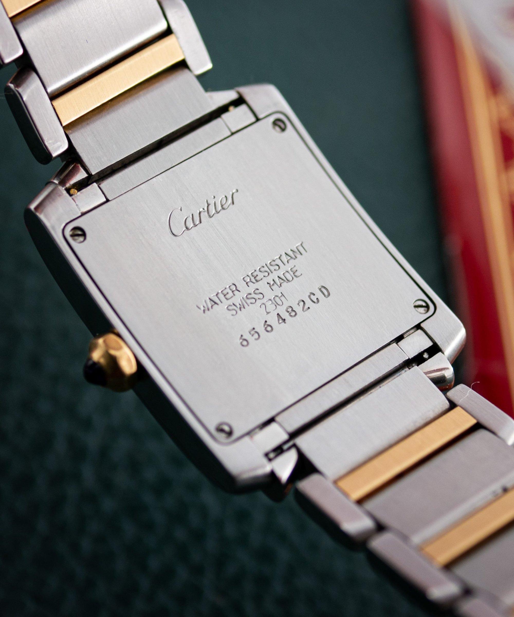 Cartier Tank Française 2301 incl. Papers