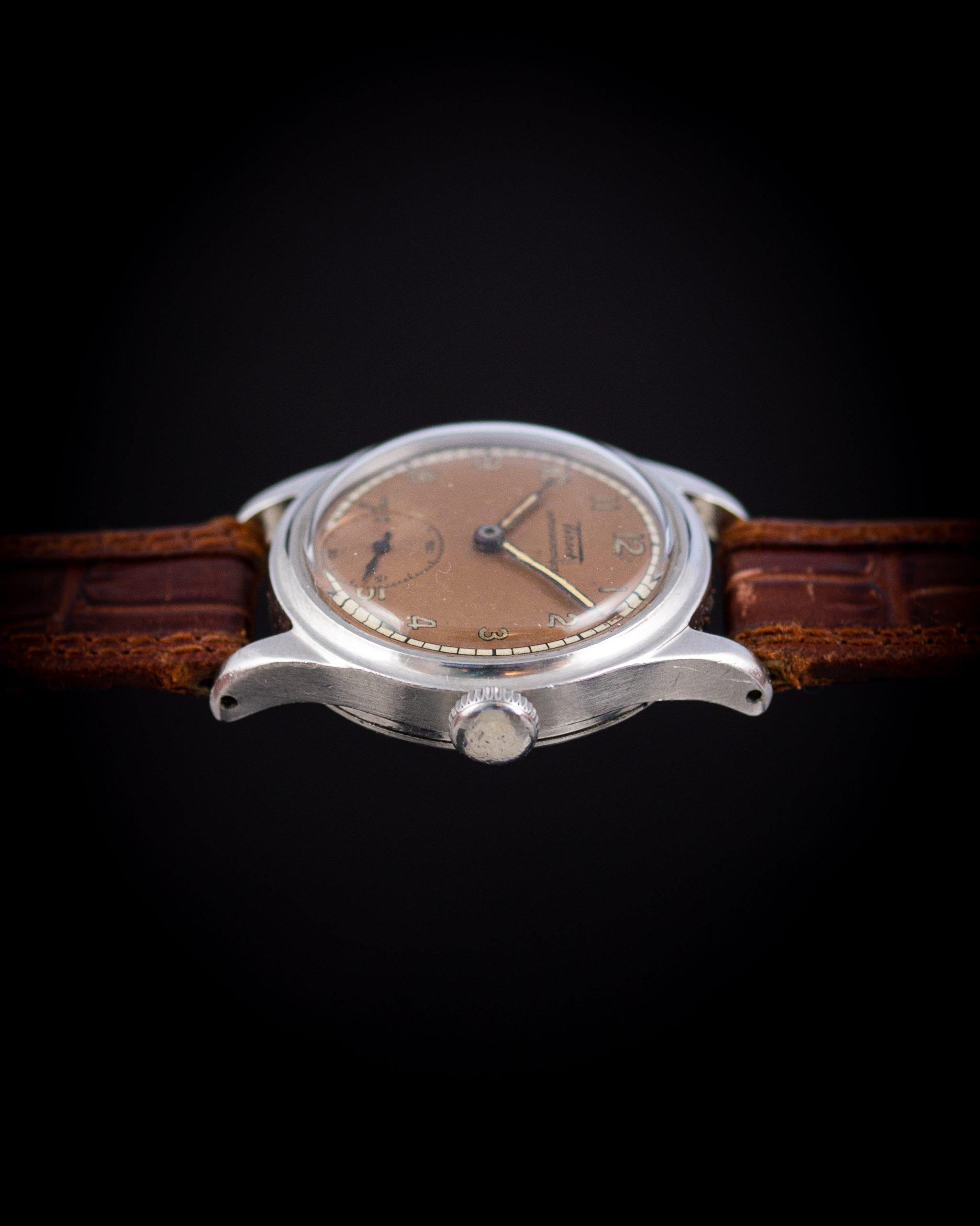 Vintage Tissot Antimagnetique salmon dial