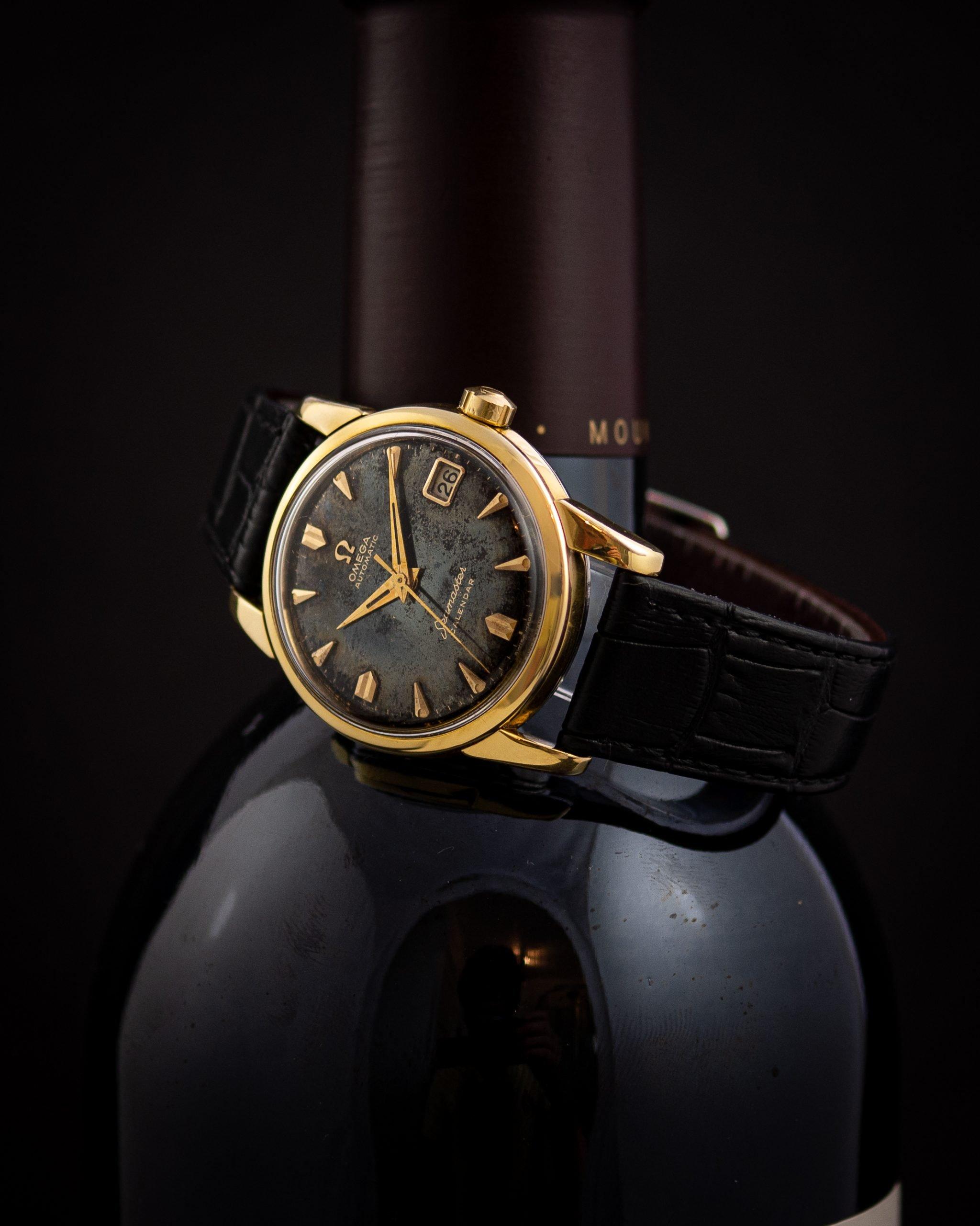 Vintage Omega Seamaster Automatic ref. 2849-6 SC black dial
