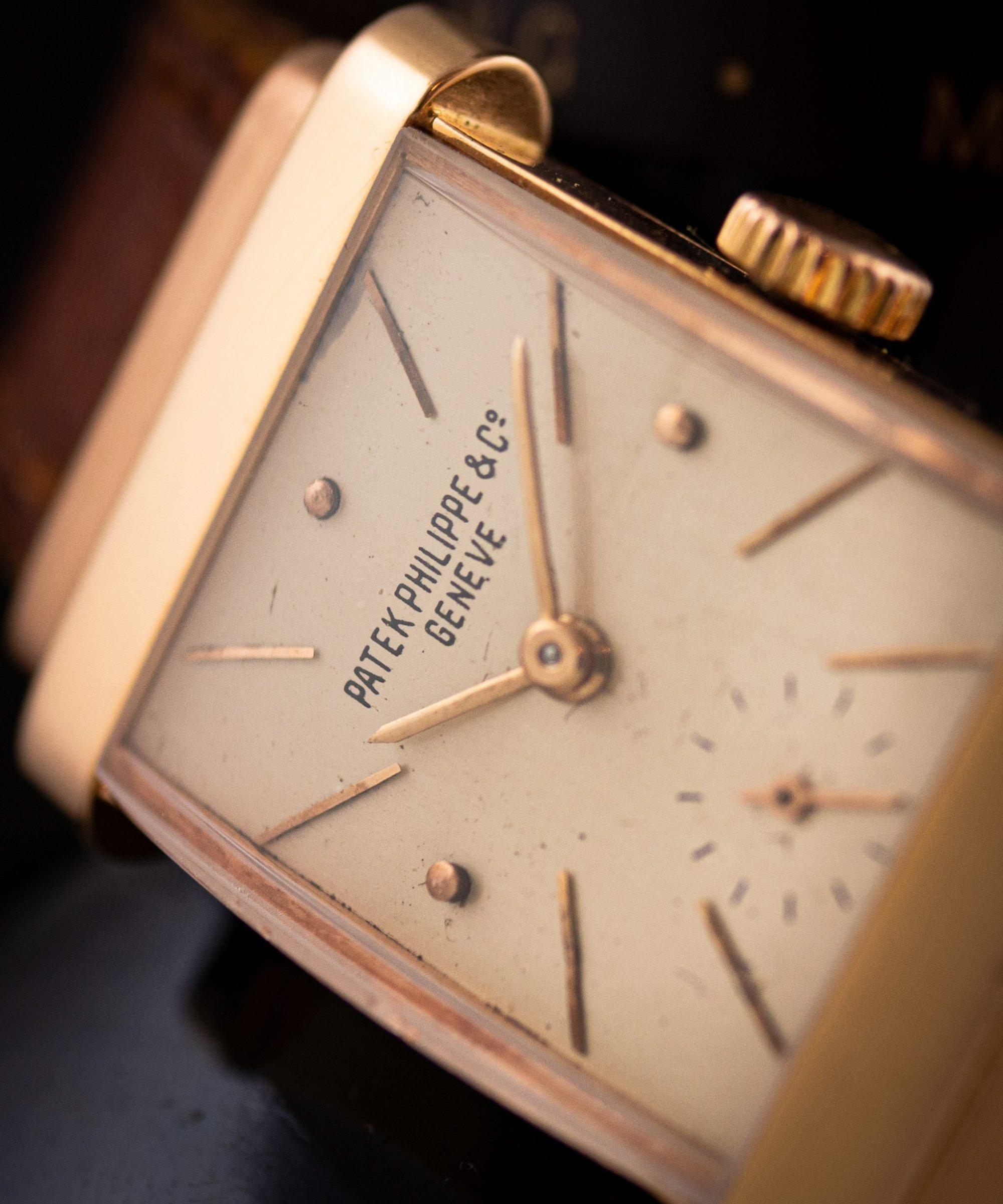 Vintage Patek Philippe Top Hat ref. 1450 18k in rose gold