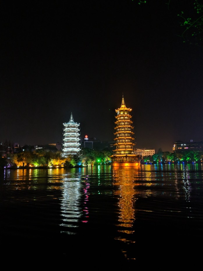 Twin Pagodas, Guilin