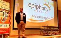 Lee Gross, MD, presents Epiphany Health to AMSA